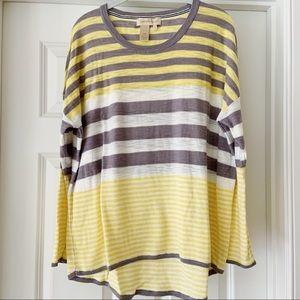 Territory Ahead 100% Cotton Striped Sweater